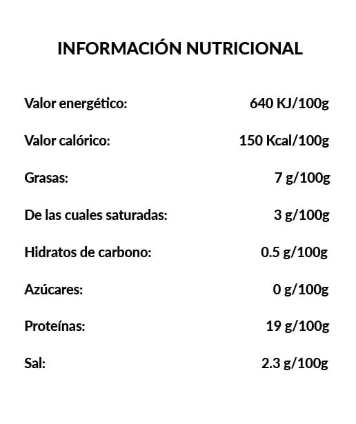 Medio Hueso de Jamón - Ingredientes