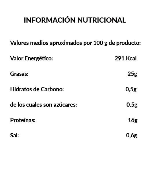 Pezuña de Cerdo - Ingredientes